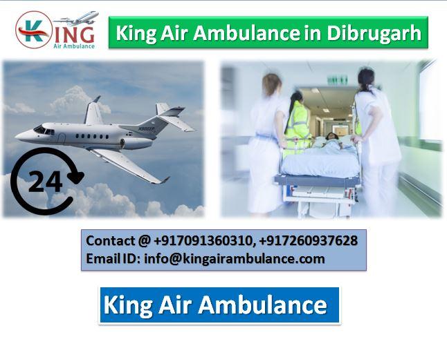 Air Ambulance in Dibrugarh