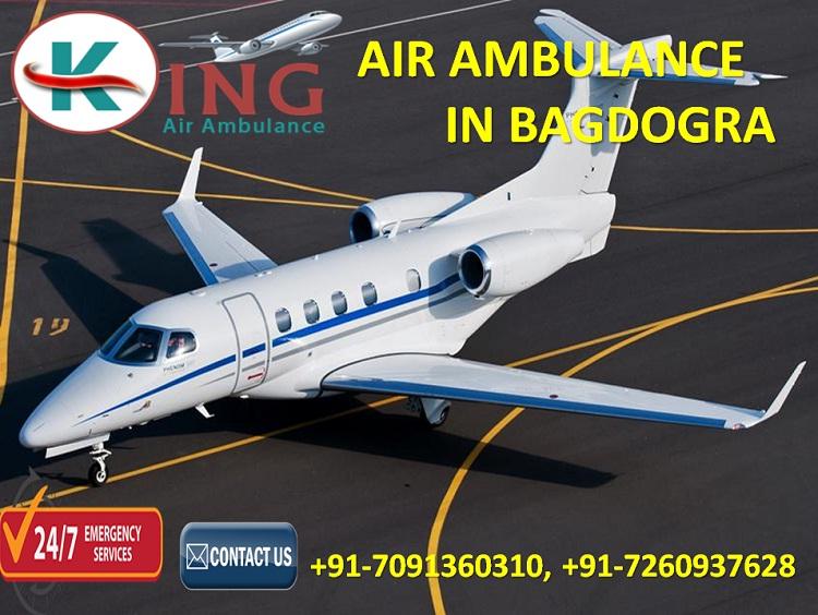 Air Ambulance in Bagdogra